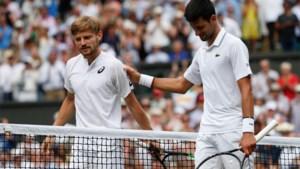 Goffin is niet opgewassen tegen Djokovic
