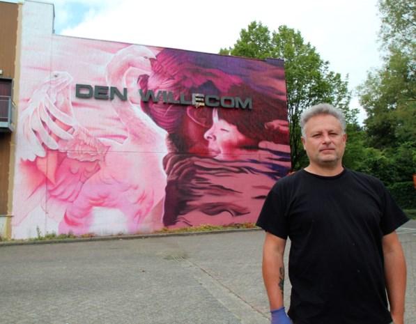 Graffitikunstwerken van SMOK fleuren Den Willecom op