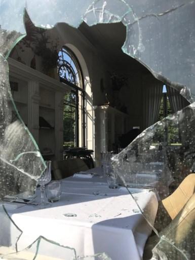 Granaat gevonden aan Kasteel Den Brandt, ook opzettelijke brandstichting in restaurant
