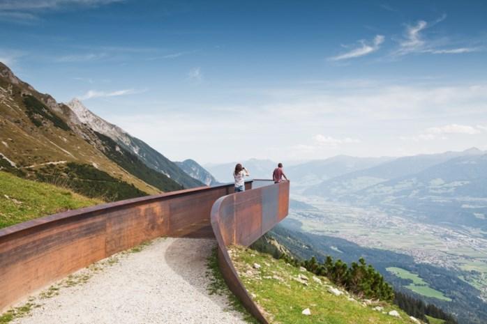 Uitzicht op Innsbruck is nog wat indrukwekkender geworden