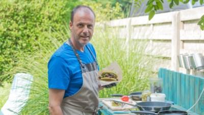 Voedingscoach promoot hamburger van zeewier met foodtruck