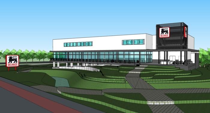 Delhaize bouwt nieuwe supermarktcomplex in Mariaburg
