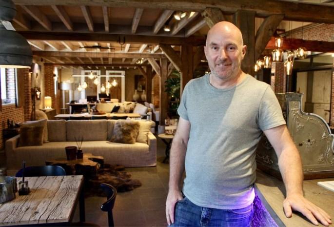 Dirk Philippaerts tovert feestzaal om tot stijlvolle interieurzaak
