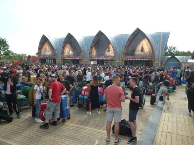 Eerste campinggangers stromen toe op Tomorrowland