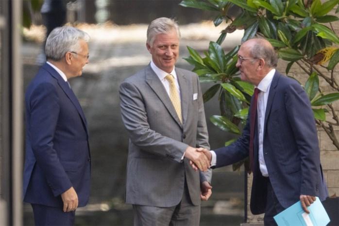 Koning Filip roept politici op om zo snel mogelijk nieuwe regering te maken