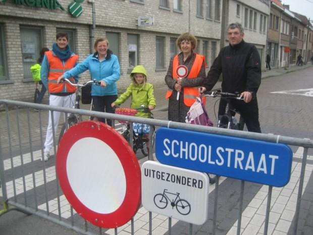 Antwerpse Bervoetstraat wordt schoolstraat
