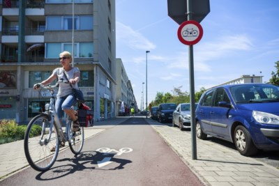 """Protest tegen boetes voor spookfietsen: """"De wegbeheerder creëert idiote, fietsonvriendelijke situaties"""""""