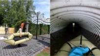 In een opblaasbootje dwars door Mol: door de grote poort binnen, langs het kleinste gaatje buiten