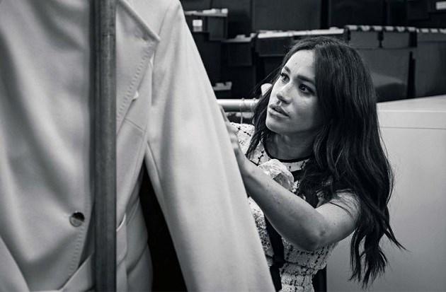 Meghan Markle eventjes hoofdredacteur bij Vogue, maar daarom staat ze niet op de cover