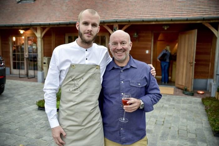 Piet Huysentruyt en zoon Cyriel openen drijvend restaurant tijdens Part of Antwerp