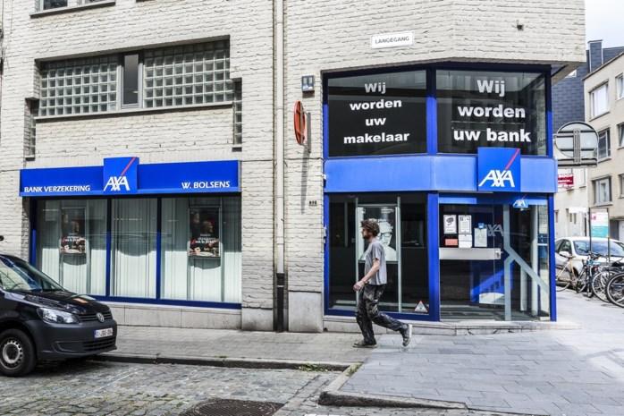 Honderden kantoren dreigen te sluiten na overname AXA Bank door Crelan