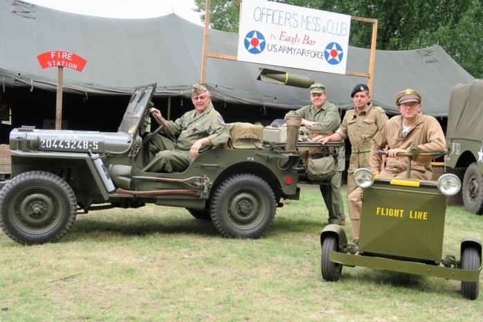 """Historisch militair kamp in teken van 75 jaar Bevrijding: """"Zelfs de Duitsers dragen hier Amerikaanse uniformen"""""""