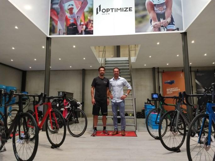 Toptriatlon-ploeg opent gloednieuwe Optimize Bike & Tri winkel in Kalmthout
