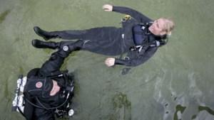 """Journaliste Britt gaat voor het eerst duiken: """"Het lijkt of mijn hersenen me tegenhouden"""""""