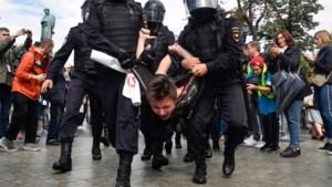 Russische politie pakt 19 manifestanten op tijdens betoging oppositie
