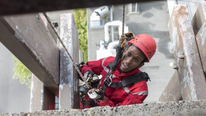 Eerst leren klimmen, dan een job: originele begeleiding voor vluchtelingen via sociale onderneming