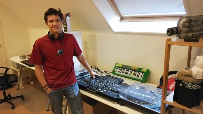 18-jarige Matteo De Bevere heeft finaleplaats in MNM Start to DJ