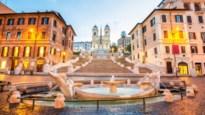 Toeristen mogen in Rome niet meer op de Spaanse Trappen zitten