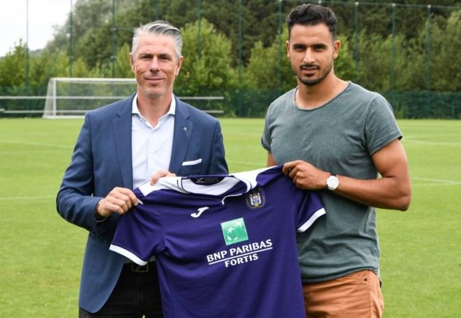 Nu ook officieel: Nacer Chadli trekt voor één jaar naar Anderlecht zonder aankoopoptie