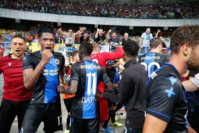 Club Brugge stoot door in Champions League na fel bevochten duel in Kiev