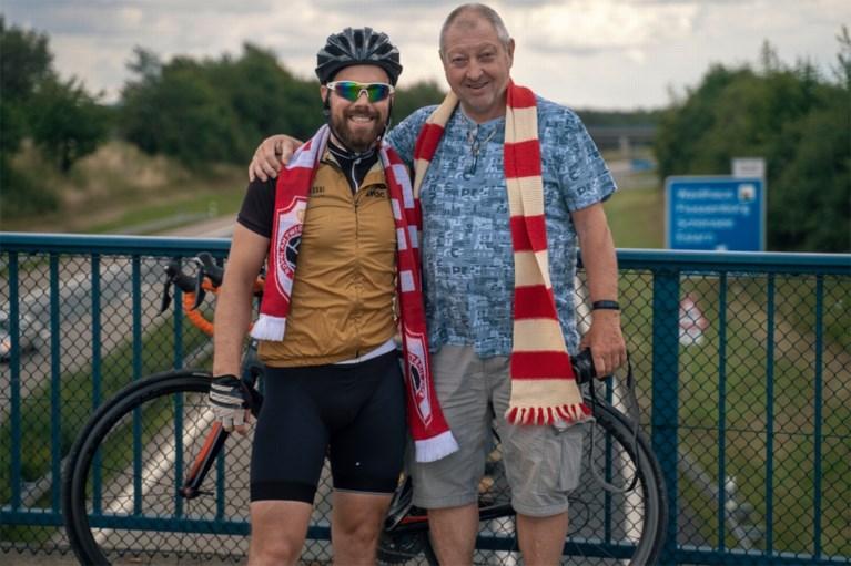 """Jorrit Bux fietst 900 kilometer van de Bosuil naar Pilsen: """"Ik hoop mijn fiets naast het veld te kunnen zetten"""""""