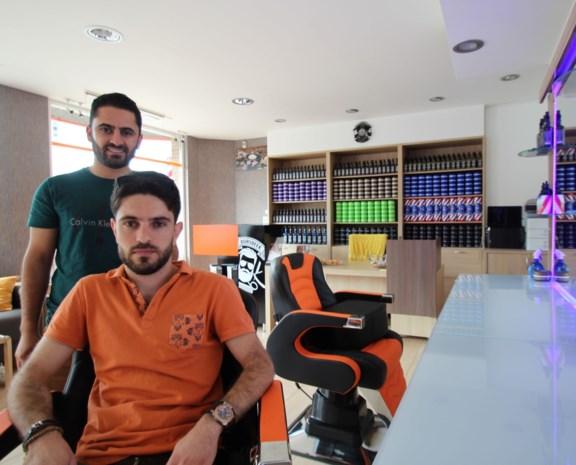 Syrische broers openen Borsbeek Barbershop in De Robianostraat