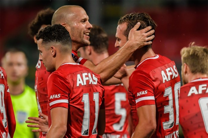 Nederlandse AZ en Kroatische Rijeka volgende week tegenstanders van Antwerp en Gent