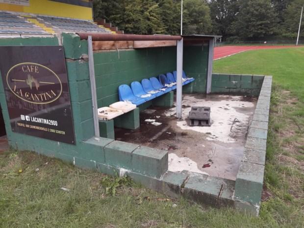 Voetbalclub zoekt getuigen van brandstichting in dug-out