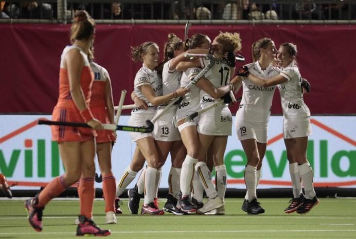 Panthers stunten zich op EK Hockey naar gelijkspel tegen Nederland
