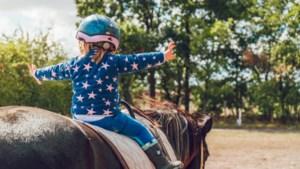 Hier kan je met kinderen gaan paardrijden