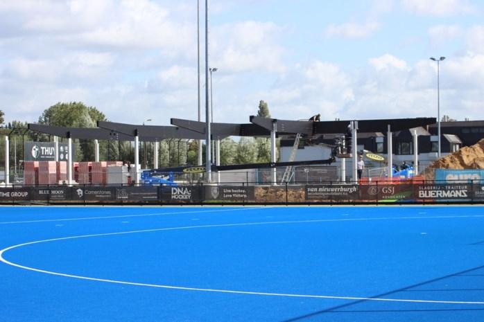 Nieuw clubhuis hockeyclub Victory krijgt vorm
