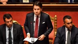 Italiaanse premier Conte treedt af