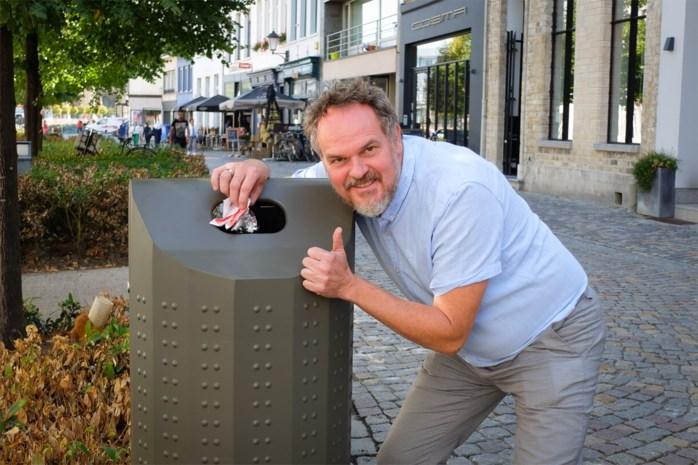Mechelen plaatst grotere vuilnisbakken tegen zwerfvuil