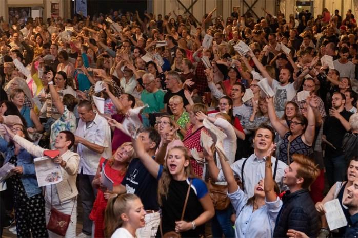 3.000 Schotenaren zingen vanavond samen achter kasteel