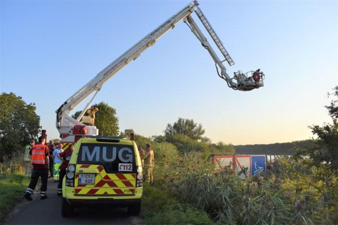 Duikers, boten, ziekenwagen en mug ingezet nadat jongen gilt voor wespensteek