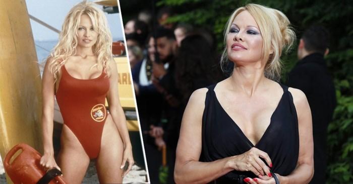 """Pamela Anderson bekent: """"Voor mijn dates draag ik soms nog Baywatch-outfit"""""""