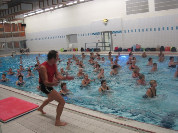 Uitstel sluiting zwembad is reddingsboei voor aquagym-lessen