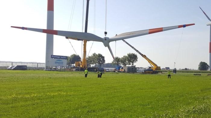 Windturbines langs snelweg worden ontmanteld: tijd voor nieuwe en hogere exemplaren