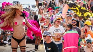 Pornoster maakt het backstage iets té bont op Kamping Kitsch, zes festivalgangers in de cel