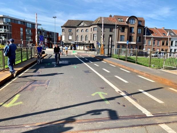 """Fietsersbond: """"Maak fietsstraat over Plaisancebrug en door Brusselpoort"""""""