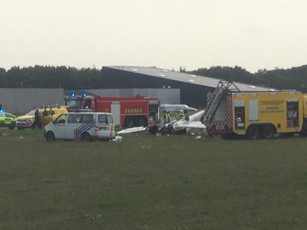 Sportvliegtuigje stort neer in Wevelgem, piloot overleden