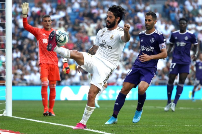 Nog meer blessurezorgen bij Real Madrid: ook Isco in volle ziekenboeg