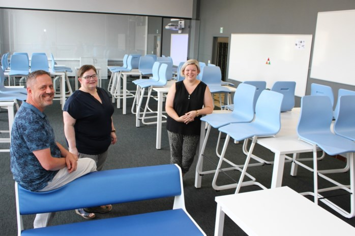 Nieuwe klaslokalen, nieuwe aanpak in VTI
