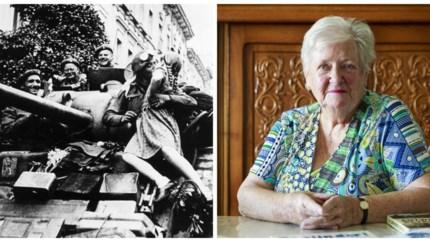 Josepha Velge, het meisje dat gekust werd door een tanksoldaat