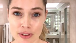 Topmodel Doutzen Kroes geeft tips voor een natuurlijke make-uplook