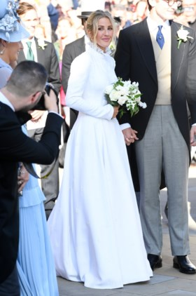 Ellie Goulding hielp bij het ontwerpen van trouwjurk