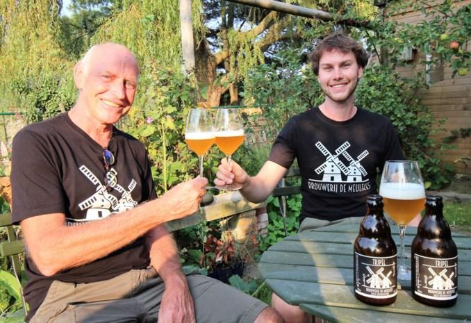 Brouwerij De Meulekes brouwt haar eerste tripel: vader en zoon stampen microbrouwerij uit de grond