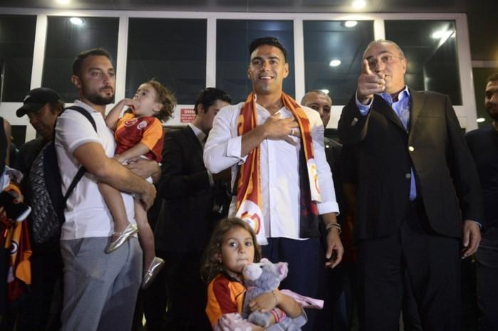 Radamel Falcao officieel naar Galatasaray, tegenstander van Club Brugge in Champions League