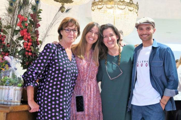 Lana en Laura hebben met Louix broertje voor de modieuze man