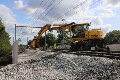 Nieuwe fietstunnel onder de spoorlijn geschoven: project kost 100.000 euro per meter